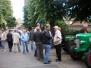 Treckerausstellung beim Stüppkesmarkt 2009